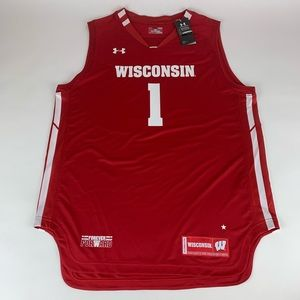 Wisconsin Badgers Under Armour Basketball Jersey